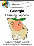 Georgia State Study Lapbook--4.50