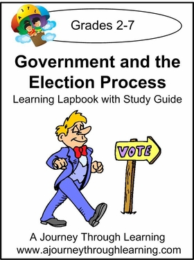 Government and the Election Process Lapbook 8.00