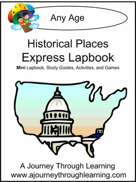 Historical Places Express (Quick) Lapbook
