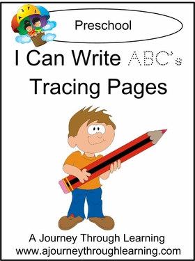 I Can Write ABCs Tracing Pages--4.50