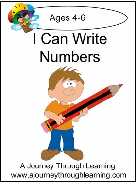 I Can Write Numbers Worksheet Pages-4.50