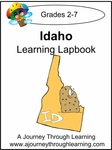 Idaho State Study Lapbook--4.50