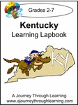 Kentucky State Study Lapbook--4.50