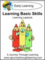 Learning Basic Skills Preschool Lapbook-8.00