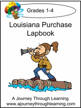 Louisiana Purchase Lapbook with Study Guide-8.00