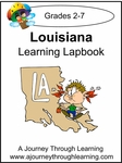 Louisiana State Study Lapbook --4.50