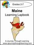 Maine State Study Lapbook--8.00