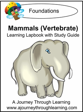 Mammals Lapbook with Study Guide--8.00