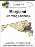 Maryland State Study Lapbook---4.50