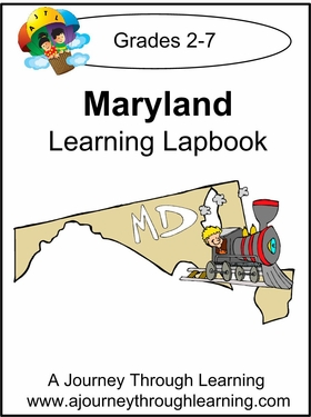 Maryland State Study Lapbook---8.00