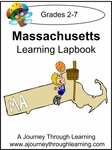 Massachusetts State Study Lapbook--8.00