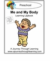 Me and My Body Preschool Lapbook-8.00