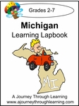 Michigan State Study Lapbook--4.50
