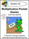 Multiplication Pocket Games Lapbook-8.00