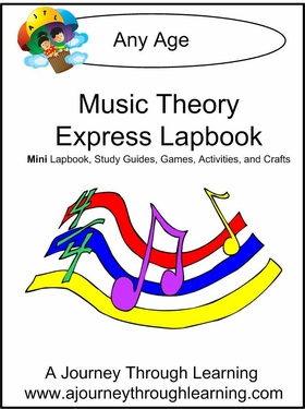 Music Theory Express (Quick) Lapbook