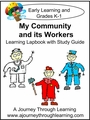 My Community and its Workers Lapbook with Study Guide-8.00