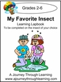 My Favorite Insect Lapbook (choose your own insect) - 8.00