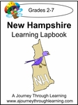 New Hampshire State Study Lapbook--8.00