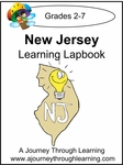 New Jersey State Study Lapbooks--4.50