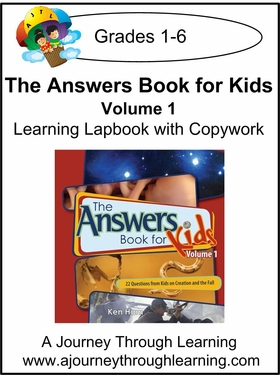 New Leaf Press-The Answers Book for Kids Volume 1 Lapbook