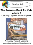 New Leaf Press-The Answers Book for Kids Volume 2 Lapbook -13.00