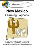 New Mexico State Study Lapbook--4.50