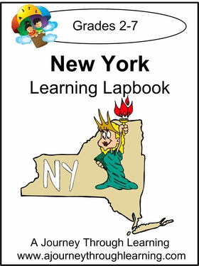 New York State Study Lapbook--8.00