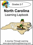 North Carolina State Study Lapbook--4.50