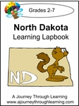 North Dakota State Study Lapbook--4.50