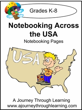 Notebooking Acoss the USA!--4.50