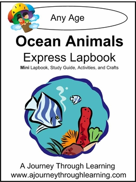 Ocean Animals Express (Quick) Lapbook