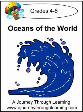 Oceans of the World Lapbook with Study Guide-8.00
