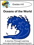 Oceans of the World Lapbook with Study Guide-On Sale $4!!