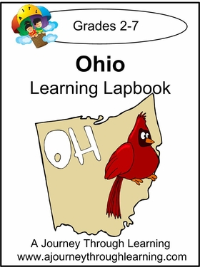 Ohio State Study Lapbook--4.50