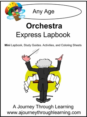 Orchestra Express (Quick) Lapbook 2.00!