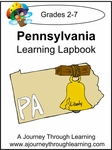 Pennsylvania State Study Lapbook--4.50