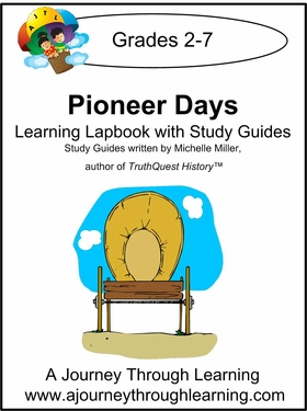 TruthQuest-Pioneer Days Lapbook with Study Guide--8.00