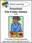 Preschool File Folder Games (Colorful Graphics)-5.00