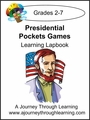 Presidential Pockets Lapbook 8.00