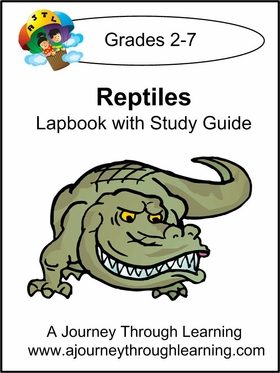 Reptiles Lapbook with Study Guide-8.00