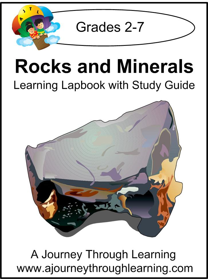 Rocks and Minerals Lapbook Instant Download