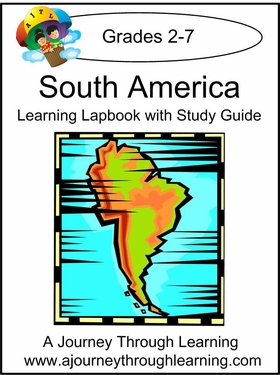 South America Lapbook with Study Guide--8.00