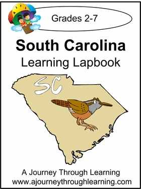 South Carolina State Study Lapbook--4.50