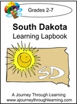 South Dakota State Study Lapbook--8.00