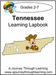 Tennessee State Study Lapbook--4.50