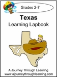 Texas State Study Lapbook --4.50