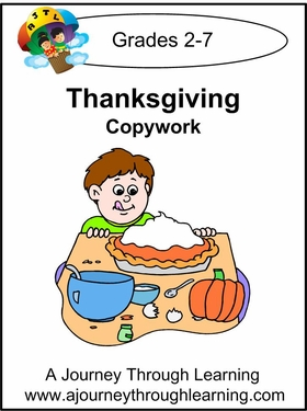 Thanksgiving  Cursive Style 2--4.50