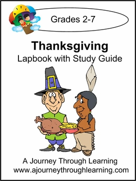 Thanksgiving Lapbook with Study Guide-8.00