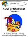 The ABC's Of Christmas Print Style 2--4.50