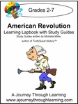 The American Revolution Lapbook with Study Guide--8.00